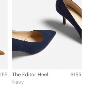 Ever Lane Italy blue heel
